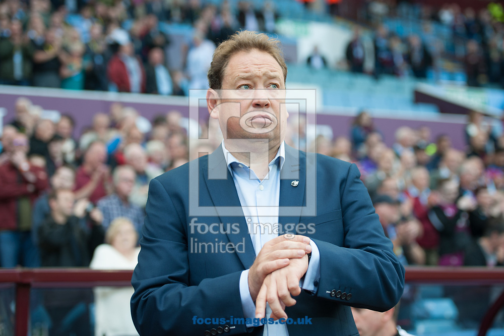 Hull City manager Leonid Slutsky during the Sky Bet Championship match at Villa Park, Birmingham<br /> Picture by Matt Wilkinson/Focus Images Ltd 07814 960751<br /> 05/08/2017