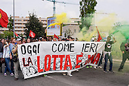 Roma, 25 Aprile 2015<br /> Manifestazione meticcia, antifascista, e contro il razzismo al quartiere  Tor Sapienza per il  giorno del  70esimo anniversario della Liberazione dal nazi-fascismo.<br /> Rome, April 25, 2015<br /> Demostration antifascist, and  against racism to the neighborhood Tor Sapienza for the day of the 70th anniversary of the liberation from Nazi-Fascism.