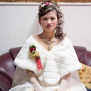 Bride in Grooms house, Namasiya Township, Kaoshiung County, Taiwan