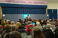 Wyandanch, New York, USA. March 26, 2017. DuWAYNE GREGORY, Presiding Officer and Suffolk County Legislator (Democrat - District 15), is speaking at Politics 101 event, the first of series of activist training workshops for members of TWW LI, the Long Island affiliate of national Together We Will. One speaker referred to groups such as TWWLI as activist pop-up groups. Event was held at Our Lady of Miraculous Medal Church.