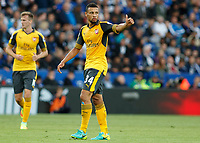 Football - 2016/2017 Premier League - Leicester Ciity V Arsenal. <br /> <br /> Francis Coquelin of Arsenal at The King Power Stadium.<br /> <br /> COLORSPORT/DANIEL BEARHAM