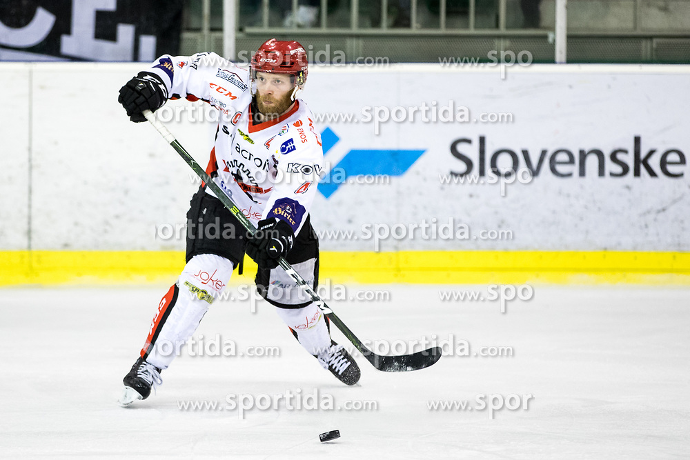 Andrej Tavzelj of Jesenice during ice hockey match between HK SZ Olimpija vs HDD SIJ Acroni Jesenice in Final of Slovenian League 2017/18, on April 10, 2018 in Hala Tivoli, Ljubljana, Slovenia. Photo by Matic Klansek Velej / Sportida