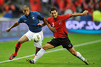 FOOTBALL - UEFA EURO 2012 - QUALIFYING - GROUP D - FRANCE v ALBANIA - 7/10/2011 - PHOTO GUY JEFFROY / DPPI - LOIC REMY (FRA)