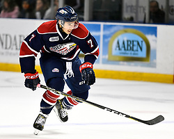 Kyle Bollers of the Saginaw Spirit. Photo by Aaron Bell/OHL Images