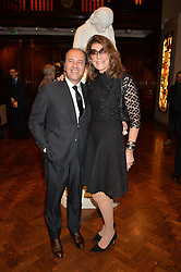 PROSPER ASSOULINE and MARTINE ASSOULINE at a party to celebrate the launch of the Maison Assouline Flagship Store at 196a Piccadilly, London on 28th October 2014.  During the evening Valentino signed copies of his new book - At The Emperor's Table.
