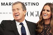 Mario Testino and Izabel Goulart at Vogue December Issue Mario Testino Party