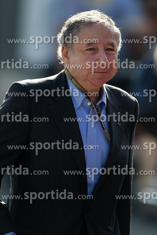 06.09.2014, Autodromo di Monza, Monza, ITA, FIA, Formel 1, Grand Prix von Italien, Qualifying, im Bild Jean Todt (FRA) FIA President, // during the Qualifying of Italian Formula One Grand Prix at the Autodromo di Monza in Monza, Italy on 2014/09/06. EXPA Pictures &copy; 2014, PhotoCredit: EXPA/ Sutton Images<br /> <br /> *****ATTENTION - for AUT, SLO, CRO, SRB, BIH, MAZ only*****