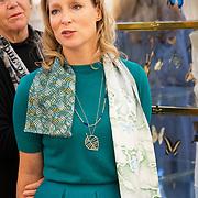 NLD/Amsterdam/20181118- Prinses Margarita geeft rondleiding op Pan Amsterdam, Prinses Margarita