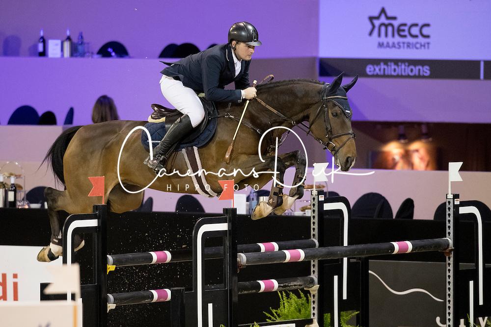 Dreher Hans Dieter, GER, Cim Air<br /> Jumping Indoor Maastricht 2016<br /> &copy; Hippo Foto - Dirk Caremans<br /> 13/11/2016