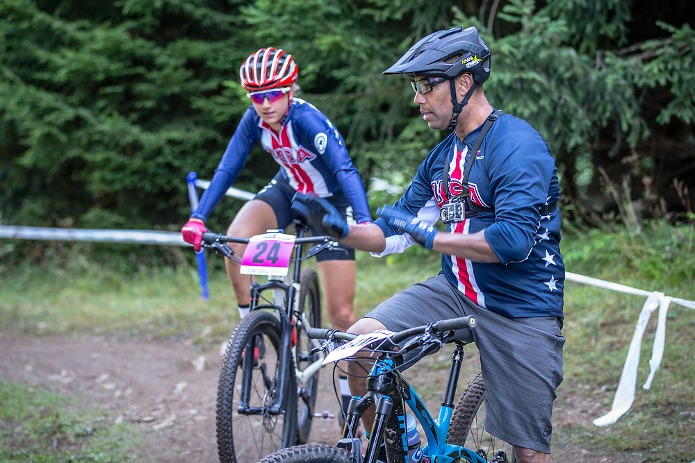 Team USA at the 2018 UCI MTB World Championships - Lenzerheide, Switzerland