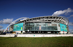 A general view of Wembley Stadium prior to the 2018 FIFA World Cup Qualifying, Group F match at Wembley Stadium, London.