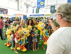 30.07.2016, Österreich Haus, Rio de Janeiro, BRA, Rio 2016, Olympische Sommerspiele, Austria House, Vorberichte, im Bild Olympic Mega Store // during the Rio 2016 Olympic Summer Games at the Österreich Haus in Rio de Janeiro, Brazil on 2016/07/30. EXPA Pictures © 2016, PhotoCredit: EXPA/ Erich Spiess