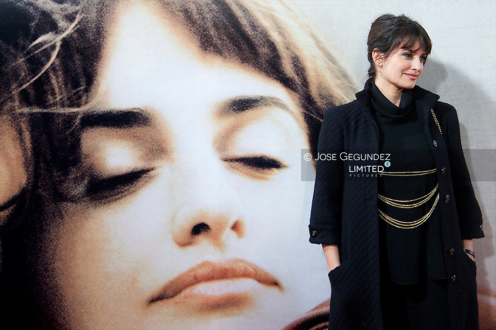 Spanish Actress Penelope Cruz attends 'Venuto Al Mondo' Premiere at Capitol Cinema in Madrid