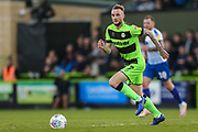 Forest Green Rovers Carl Winchester(7) on the ball during the EFL Sky Bet League 2 second leg Play Off match between Forest Green Rovers and Tranmere Rovers at the New Lawn, Forest Green, United Kingdom on 13 May 2019.