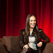 Alicia Keys speaks at New York University