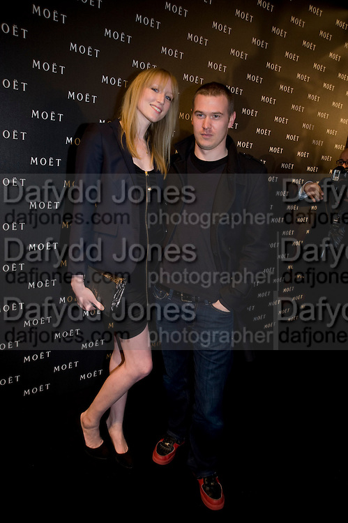 JADE PARFITT, A Tribute to Cinema party given by Moet and Chandon.Big Sky Studios, Brewery Rd. London.  24 March 2009 *** Local Caption *** -DO NOT ARCHIVE-© Copyright Photograph by Dafydd Jones. 248 Clapham Rd. London SW9 0PZ. Tel 0207 820 0771. www.dafjones.com.<br /> JADE PARFITT, A Tribute to Cinema party given by Moet and Chandon.Big Sky Studios, Brewery Rd. London.  24 March 2009
