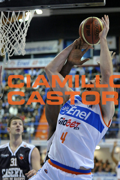 DESCRIZIONE : Brindisi Lega A 2012-13 Enel Brindisi Juve Caserta<br /> GIOCATORE : Jeff Viggiano<br /> CATEGORIA : Tiro<br /> SQUADRA : Enel Brindisi<br /> EVENTO : Campionato Lega A 2012-2013 <br /> GARA : Enel Brindisi Juve Caserta<br /> DATA : 09/12/2012<br /> SPORT : Pallacanestro <br /> AUTORE : Agenzia Ciamillo-Castoria/V.Tasco<br /> Galleria : Lega Basket A 2012-2013  <br /> Fotonotizia : Brindisi Lega A 2012-13 Enel Brindisi Juve Caserta<br /> Predefinita :