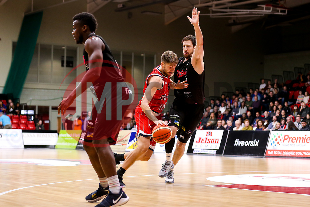 Mike Vigor of Bristol Flyers - Photo mandatory by-line: Robbie Stephenson/JMP - 11/01/2019 - BASKETBALL - Leicester Sports Arena - Leicester, England - Leicester Riders v Bristol Flyers - British Basketball League Championship