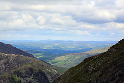 UK WALES LLANBERIS 15JUN08 - Scenic view from Mount Snowdon, the highest mountain in England and Wales in Snowdonia National Park, Wales...jre/Photo by Jiri Rezac ..© Jiri Rezac 2008..Contact: +44 (0) 7050 110 417.Mobile:  +44 (0) 7801 337 683.Office:  +44 (0) 20 8968 9635..Email:   jiri@jirirezac.com.Web:    www.jirirezac.com..© All images Jiri Rezac 2008 - All rights reserved.
