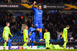 December 13, 2018 - Genk, BELGIUM - 181213 Sander Berge of Genk celebrates after 3-0 during the Europa League group stage match between Genk and Sarpsborg 08 on December 13, 2018 in Genk. .Photo: Fredrik Varfjell / BILDBYRN / kod FV / 150187. (Credit Image: © Fredrik Varfjell/Bildbyran via ZUMA Press)