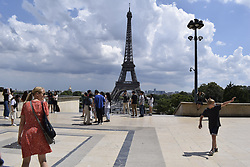 July 4, 2018 - Paris.Jb1_4687.Jpg.Jb1_4688.Jpg, France, France - Esplanade du Trocadero (Credit Image: © Panoramic via ZUMA Press)