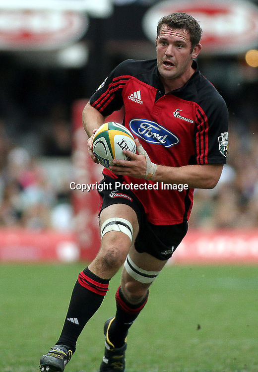 10 April, 2004. Rugby Union Super 12. Durban, South Africa. Crusaders v Sharks. Reuben Thorne. The Sharks won the match, 29 - 25.<br /> Pic: Photosport