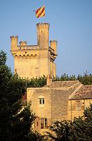 France - Provence - Gard - Uzes - Duché - Tour Bermonde