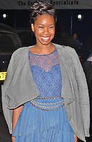 LONDON - August 01: Tolula Adeyemi at #GuettaMrBrainwash (Photo by Brett D. Cove)