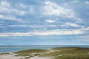 Chatham beach and the Atlantic Ocean, Cape Cod New England, USA