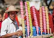 Ice cream street vendor