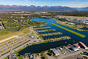 The Lake Hood Seaplane Base is located in Anchorage, Alaska.