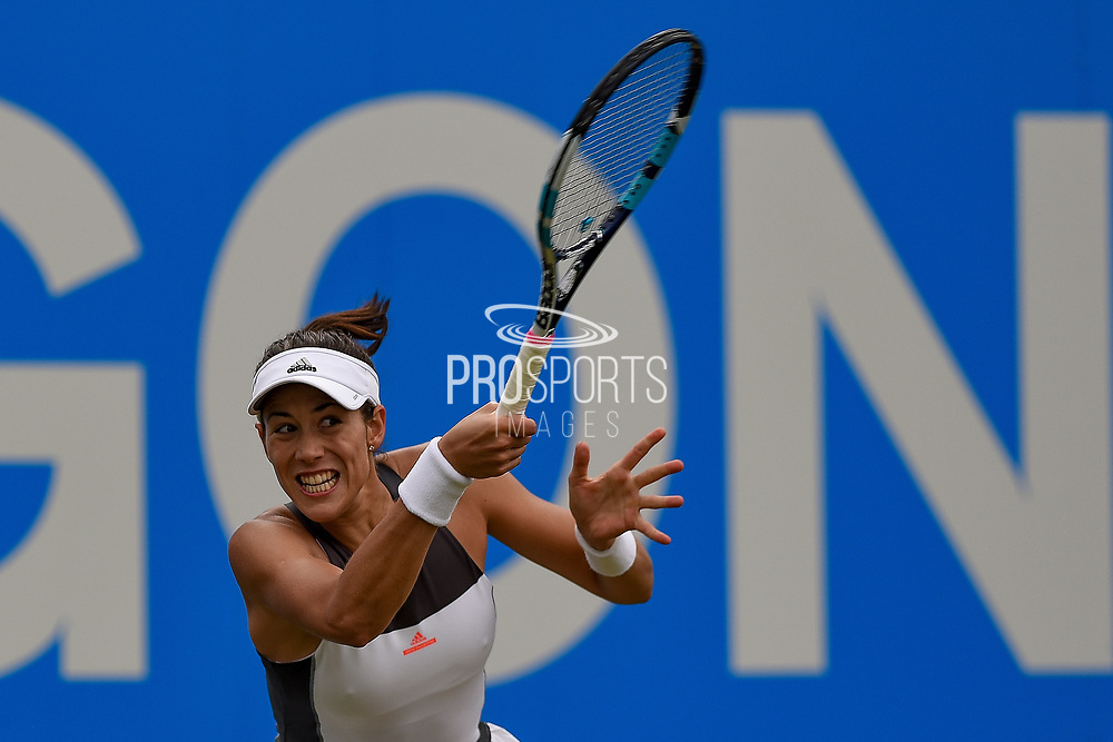 Garbine Muguruza of Spain during the Aegon Classic Birmingham at Edgbaston Priory Club, Edgbaston, United Kingdom on 24 June 2017. Photo by Martin Cole.