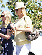 09.JULY.2011. LONDON<br /> <br /> A PREGNANT JANUARY JONES OUT WITH FRIENDS EATING ICE CREAM IN MALIBU, CALIFORNIA.<br /> <br /> BYLINE: EDBIMAGEARCHIVE.COM<br /> <br /> *THIS IMAGE IS STRICTLY FOR UK NEWSPAPERS AND MAGAZINES ONLY*<br /> *FOR WORLD WIDE SALES AND WEB USE PLEASE CONTACT