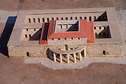 Israel, Jerusalem, Israel Museum. Model of Jerusalem in the late second temple period 66CE scale of 1:50