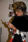 MARIA CRISTINA ROMANO, Tudor presentation. Triennale Museum of Milan. Milan. 29 September 2008 *** Local Caption *** -DO NOT ARCHIVE-© Copyright Photograph by Dafydd Jones. 248 Clapham Rd. London SW9 0PZ. Tel 0207 820 0771. www.dafjones.com.