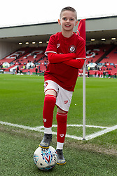 Match mascot prior to kick off - Mandatory by-line: Ryan Hiscott/JMP - 22/02/2020 - FOOTBALL - Ashton Gate - Bristol, England - Bristol City v West Bromwich Albion - Sky Bet Championship