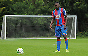 Sullay KaiKai lines up a freekick during the U21 Professional Development League match between U21 QPR and U21 Crystal Palace at the Loftus Road Stadium, London, England on 31 August 2015. Photo by Michael Hulf.