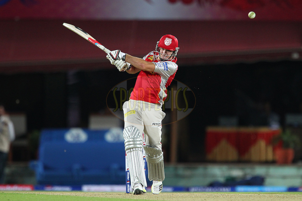 David Miller during match 67 of the Pepsi Indian Premier League between The Kings XI Punjab and the Delhi Daredevils held at the HPCA Stadium in Dharamsala, Himachal Pradesh, India on the on the 16th May 2013..Photo by Ron Gaunt-IPL-SPORTZPICS ..Use of this image is subject to the terms and conditions as outlined by the BCCI. These terms can be found by following this link:..http://www.sportzpics.co.za/image/I0000SoRagM2cIEc