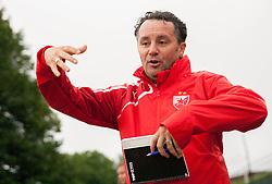 Slavisa Stojanovic, head coach of Crvena Zvezda during Friendly football match between NK Krka and FK Crvena Zvezda on June 26, 2013 in Stadium Portoval, Novo mesto, Slovenia. (Photo by Vid Ponikvar / Sportida.com)
