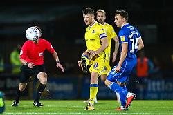Ollie Clarke of Bristol Rovers passes the ball - Mandatory by-line: Robbie Stephenson/JMP - 02/10/2018 - FOOTBALL - Crown Oil Arena - Rochdale, England - Rochdale v Bristol Rovers - Sky Bet League One