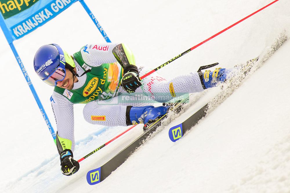 March 9, 2019 - Kranjska Gora, Kranjska Gora, Slovenia - Giovanni Borsotti of Italy in action during Audi FIS Ski World Cup Vitranc on March 8, 2019 in Kranjska Gora, Slovenia. (Credit Image: © Rok Rakun/Pacific Press via ZUMA Wire)