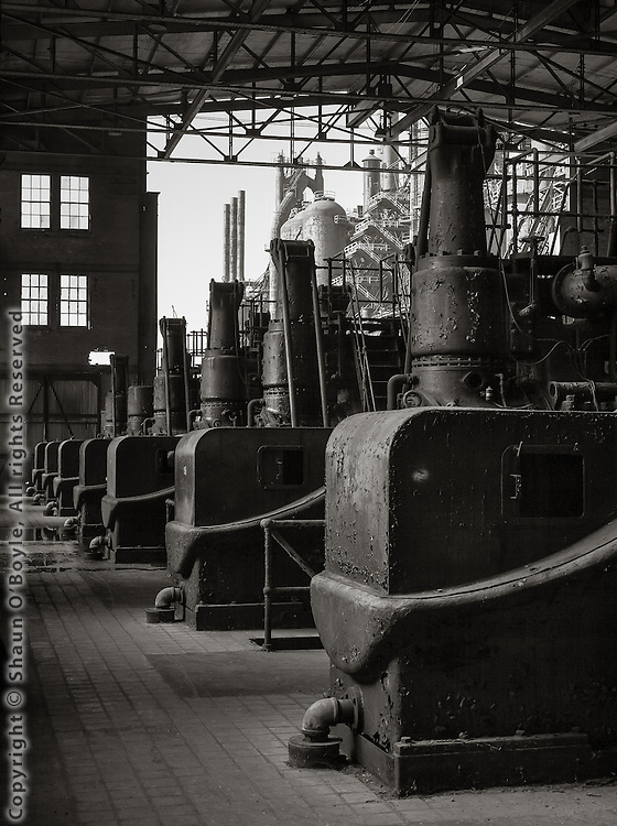 Gas Blowing Engine Room, Bethlehem Steel Mill, Bethlehem, PA