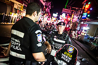 Members of the Foreign Tourist Police unit in Pattaya, Thailand.