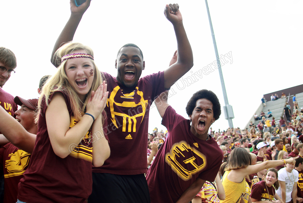 CMU football game day v New Hampshire 2013. Photos by Charlotte Bodak/Central Michigan University