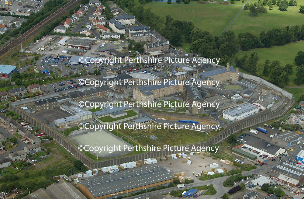 An aerial view of Perth Prison<br />