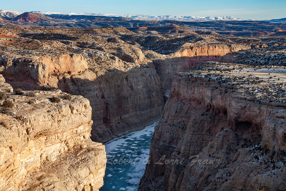 Bighorn Canyon National Recreation Area in Southern Montana