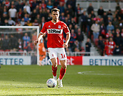 Middlesbrough midfielder Jonathan Howson (16)  during the EFL Sky Bet Championship match between Middlesbrough and Swansea City at the Riverside Stadium, Middlesbrough, England on 22 September 2018.