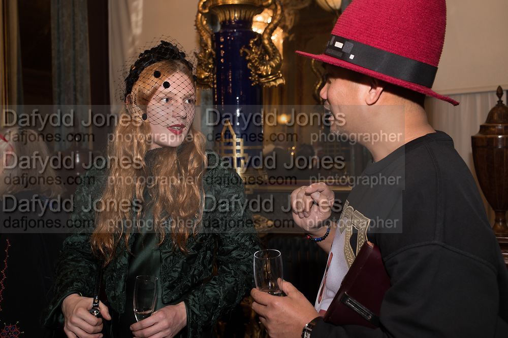WILLIAM DILL-RUSSELL, HARVY SANTOS, Stephen Jones private view for his exhibition at the Royal Pavilion, Brighton. 6 February 2019