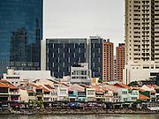 28 DECEMBER 016 - SINGAPORE:  Clark Quay in Singapore.    PHOTO BY JACK KURTZ