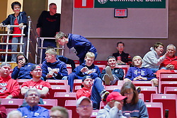 NORMAL, IL - November 03: Ridgeview Mustangs during a college basketball game between the ISU Redbirds  and the Augustana Vikings on November 03 2018 at Redbird Arena in Normal, IL. (Photo by Alan Look)